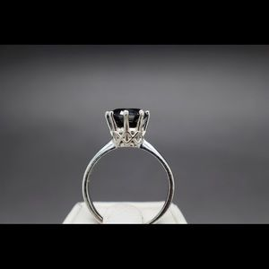 Jewelry - 2.08 cts natural black diamond ring